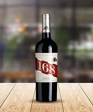 马莱山谷168干红葡萄酒