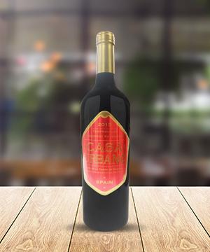 卡薩莊園丹魄-赤霞珠干紅葡萄酒2015(隨年份更新)